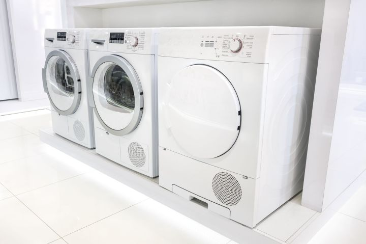 Noisy washing machine and dryer